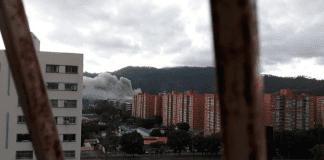 incendio en Fuerte Tiuna