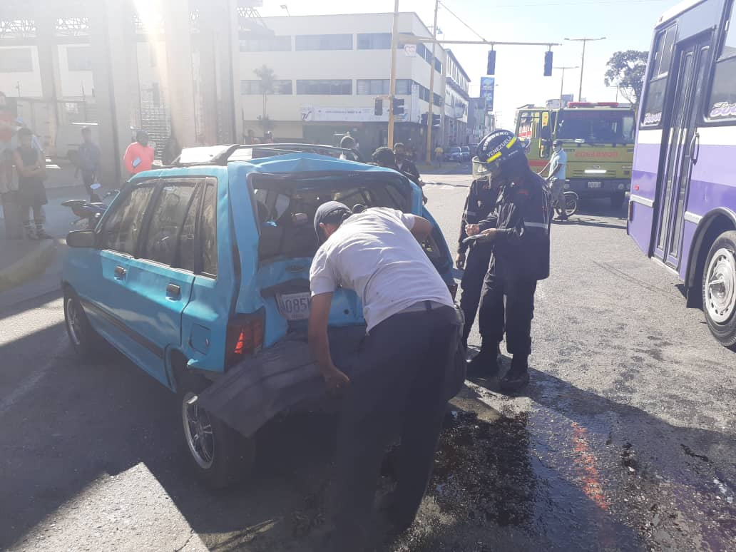 Accidente en la avenida Las Ferias – accidente en la avenida Las Ferias