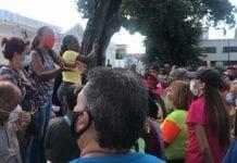 voceros de Clap y la UBCH protestaron - voceros de Clap y la UBCH protestaron