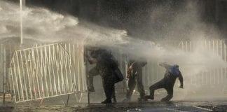 Protestas en Chile contra Piñera