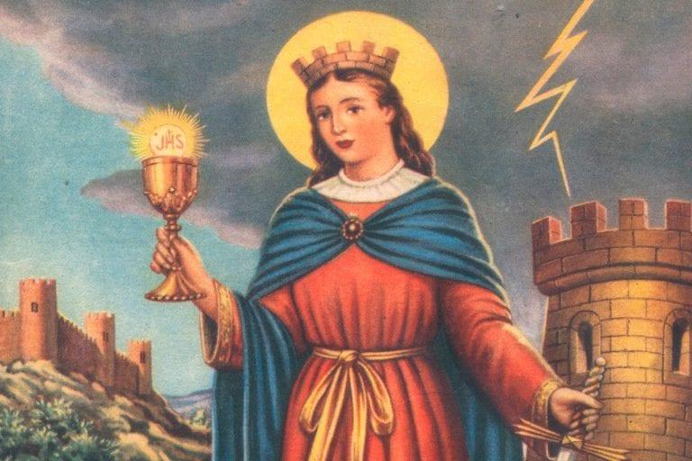 Santa Bárbara: La mártir católica de la tormenta y el rayo