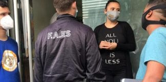 Faes realizó allanamiento en la sede de Convite