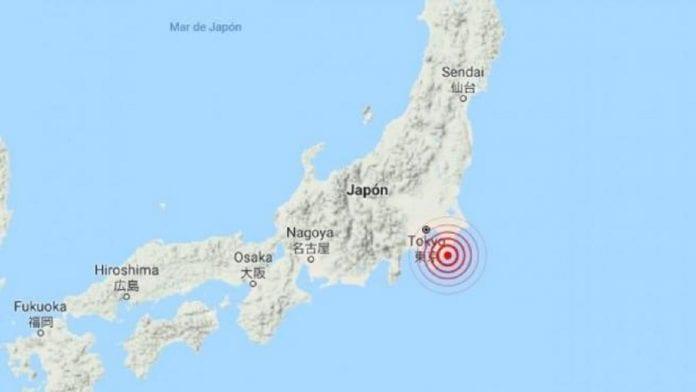 Terremoto de magnitud 5.1 sacudió a Tokio - Terremoto de magnitud 5.1 sacudió a Tokio
