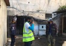 incendio en edificio del centro de valencia - incendio en edificio del centro de valencia