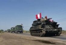 Perú despliega al Ejército en frontera con Ecuador