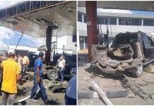 explosión de camioneta en Barquisimeto