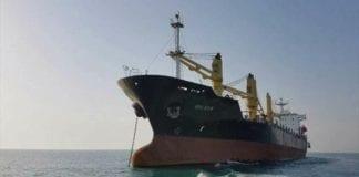 Buque iraní Golsan arribó a La Guaira