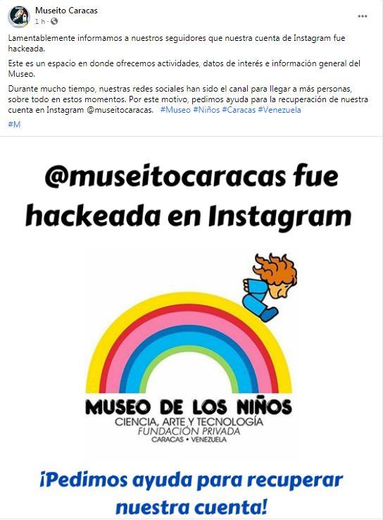 Cuenta de Instagram del Museo de los Niños  - Cuenta de Instagram del Museo de los Niños