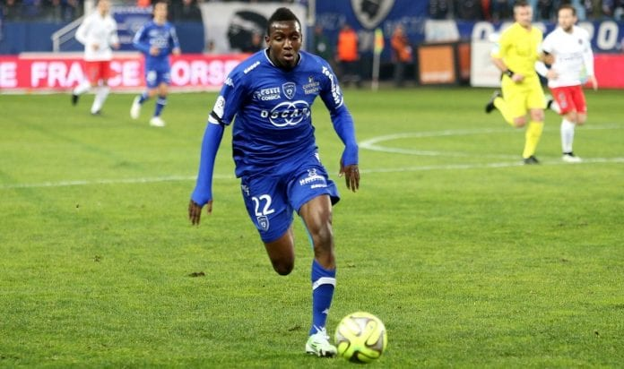 El futbolista Christopher Maboulou - El futbolista Christopher Maboulou