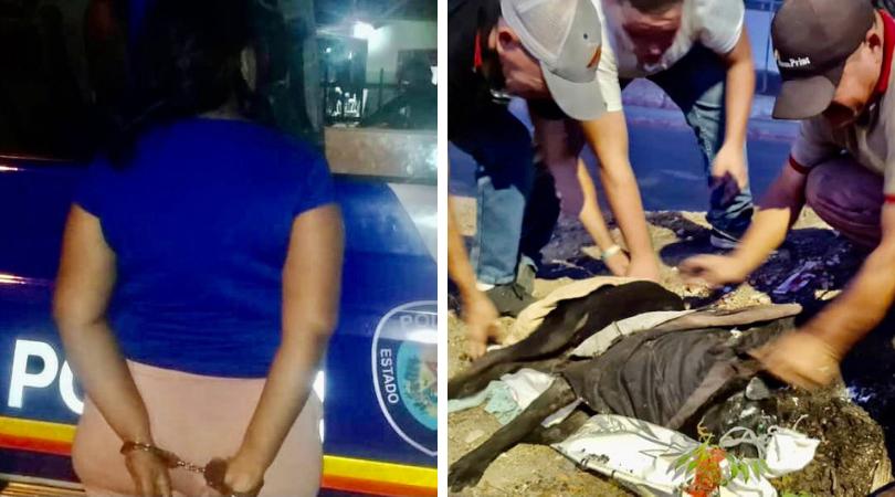 mujer abandonó a su mascota en Aragua