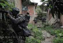 enfrentamiento en La Vega