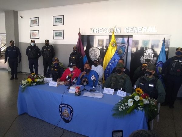 Índice delictivo en Carabobo