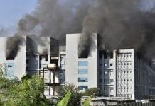 Incendio fábrica de vacunas en India - Incendio fábrica de vacunas en India
