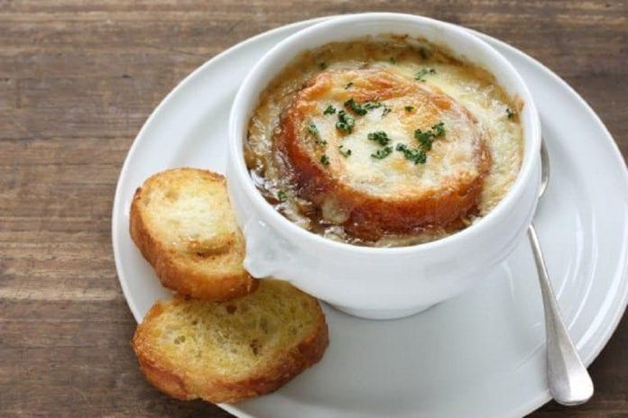 sopa de cebolla - sopa de cebolla