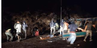 Volcamiento de vehículo militar en Táchira