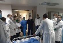Seis trabajadores de la salud murieron