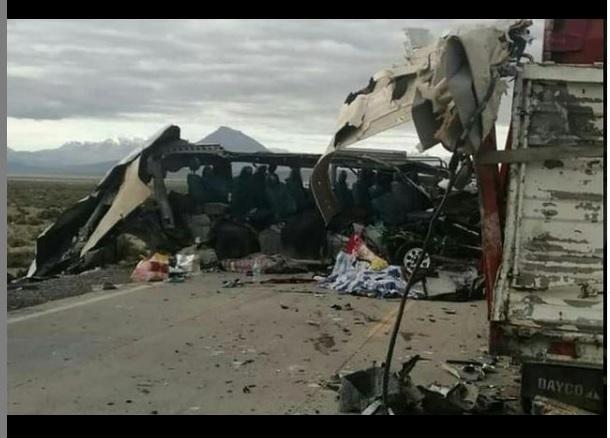 Accidente de tránsito en Bolivia - Accidente de tránsito en Bolivia
