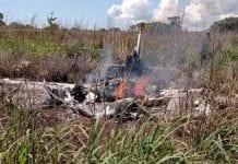 Accidente aéreo en Brasil