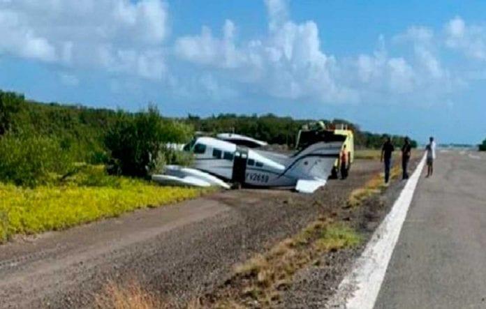 Avioneta colisionó en Los Roques - Avioneta colisionó en Los Roques