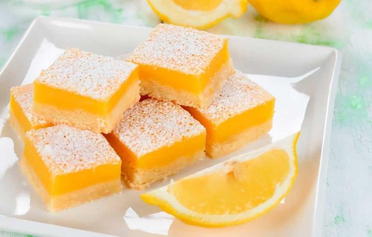 Degusta unos bocaditos de limón en este primer domingo de 2021