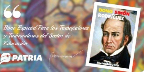 Bono Simón Rodríguez - Bono Simón Rodríguez