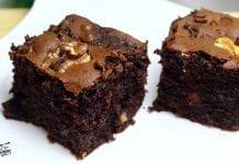 Cómo hacer brownie de chocolate