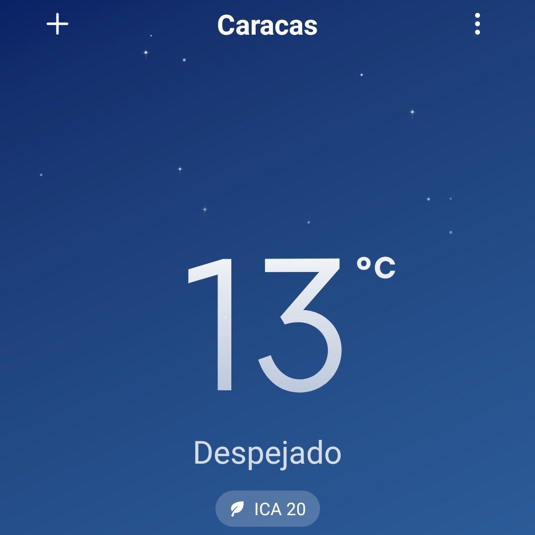 Bajas temperaturas en Venezuela - Bajas temperaturas en Venezuela
