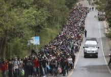 4 mil migrantes Hondureños a EEUU - 4 mil migrantes Hondureños a EEUU