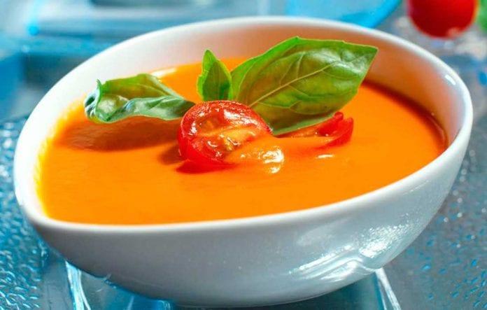 Crema de zanahoria y pimientos asados - Crema de zanahoria y pimientos asados