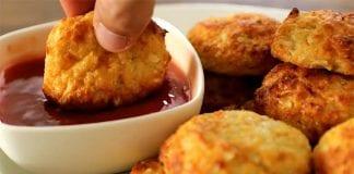 croquetas de coliflor y queso - croquetas de coliflor y queso