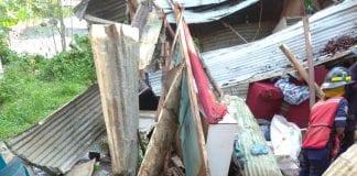 Derrumbe en Ocumare del Tuy