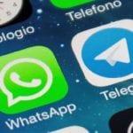 Telegram y WhatsApp - elegram y WhatsApp