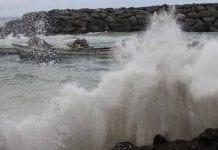 Costas venezolanas presentan fuerte oleaje - Costas venezolanas presentan fuerte oleaje