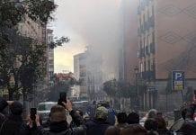 Explosión en Madrid – explosión en Madrid