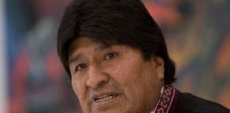 Evo Morales positivo para Covid-19