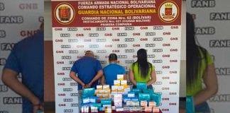 GNB decomisó blíster medicamentos - GNB decomisó blíster medicamentos