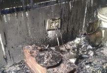 Incendio de una casa en Los Guayos - Incendio de una casa en Los Guayos