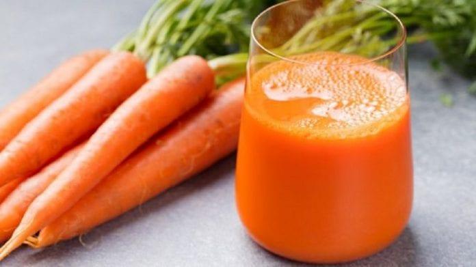 batido de piña y zanahoria - batido de piña y zanahoria