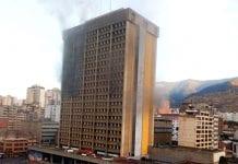 Incendio Ministerio de Educación - Incendio Ministerio de Educación