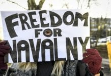 Protestas en Moscú Alexéi Navalni