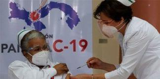 Panamá inició vacunación contra el Covid-19