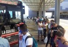 Aumento del pasaje Caracas-La Guaira