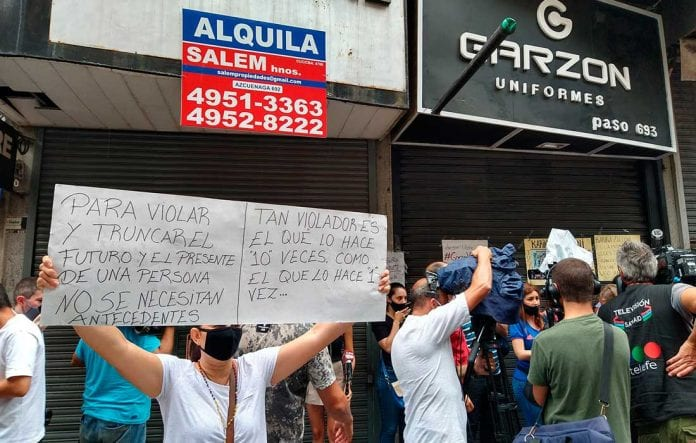 protesta de venezolanos en argentina - protesta de venezolanos en argentina