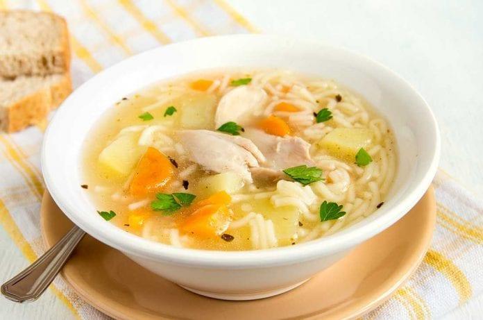 Sopa de pollo – sopa de pollo