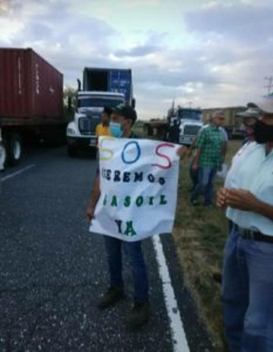 Transportistas de Puerto Cabello protestaron - Transportistas de Puerto Cabello protestaron
