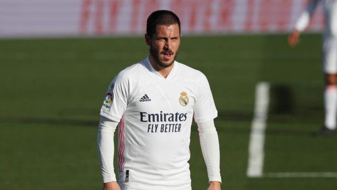 Eden Hazard sufrió una nueva lesión