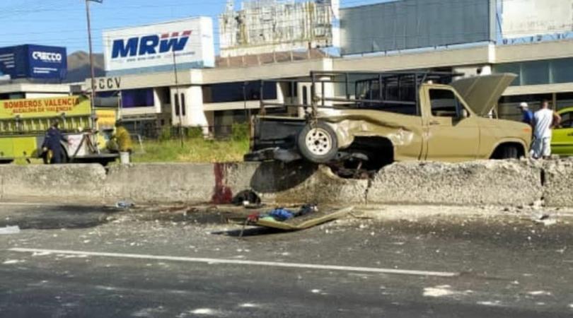 Accidente vial en la ARC