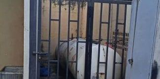 Fuga de gas en edificio Venezuela