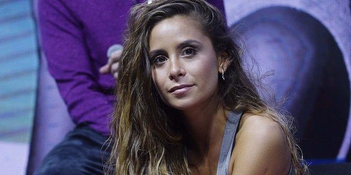 Camila Gallardo detenida en una fiesta clandestina