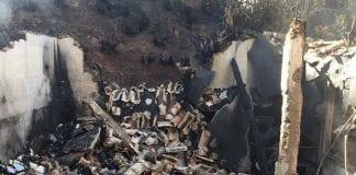 Incendio en casa de Charles Brewer-Carías